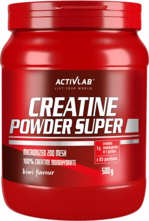 Image of ACTIVLAB Creatine Powder Super 500 Grams Kiwi