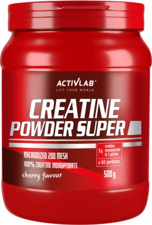 Image of ACTIVLAB Creatine Powder Super 500 Grams Cherry