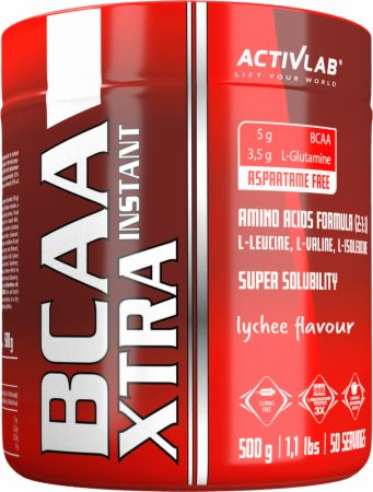 Image of ACTIVLAB BCAA Xtra Instant 500 Grams Lychee