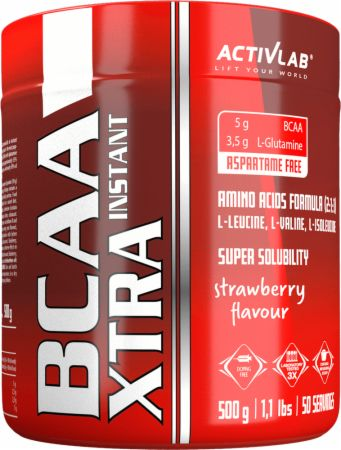 Image of ACTIVLAB BCAA Xtra Instant 500 Grams Strawberry