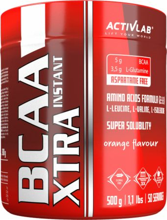 Image of ACTIVLAB BCAA Xtra Instant 500 Grams Orange