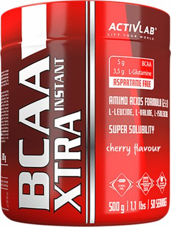 Image of ACTIVLAB BCAA Xtra Instant 500 Grams Cherry