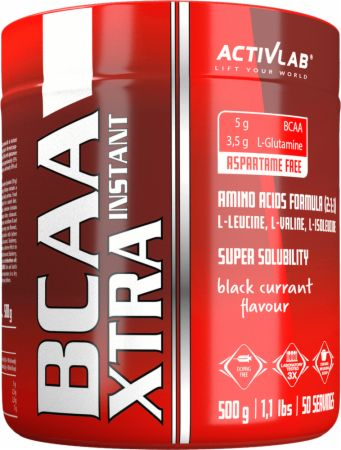 Image of ACTIVLAB BCAA Xtra Instant 500 Grams Black Currant