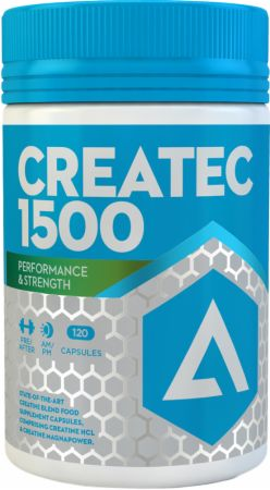 Image of CREATEC 1500 120 Capsules - Creatine Adapt Nutrition