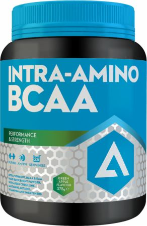 Image of Intra-Amino BCAA Green Apple 375 Grams - Amino Acids & BCAAs Adapt Nutrition