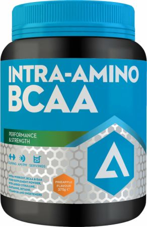 Image of Intra-Amino BCAA Pineapple 375 Grams - Amino Acids & BCAAs Adapt Nutrition