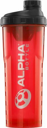 Image of Alpha Bottle V2 Shaker Red 1000ml - Shaker Bottles Alpha Designs
