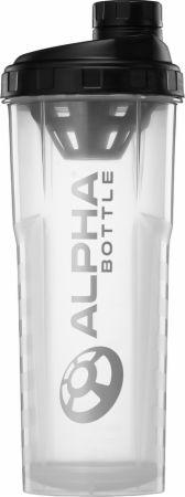 Image of Alpha Bottle V2 Shaker Clear 1000ml - Shaker Bottles Alpha Designs
