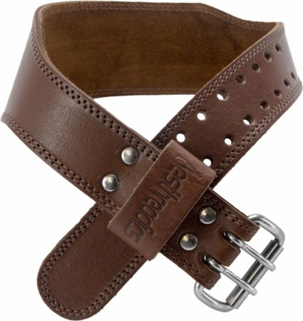 Tapered Weight Belt Brown Large - Weight Lifting Belts Aesthreadics