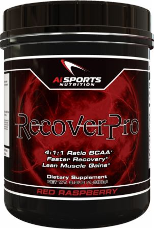 Image of AI Sports Nutrition RecoverPro 1000 Grams Red Raspberry