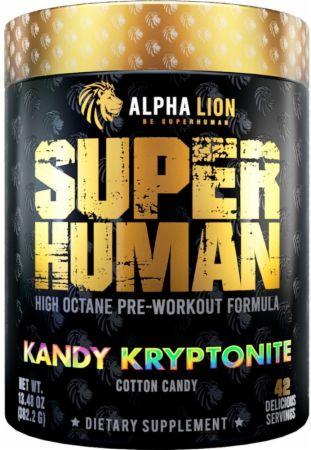 Image of SUPERHUMAN Pre-Workout V2 Kandy Kryptonite 21 Servings - Pre-Workout Alpha Lion