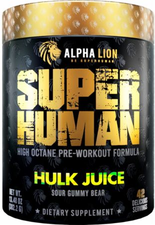 Alpha Lion SUPERHUMAN Pre-Workout V2