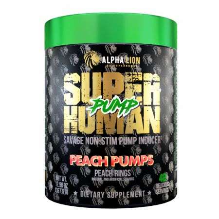 SuperHuman Pump Stim-Free