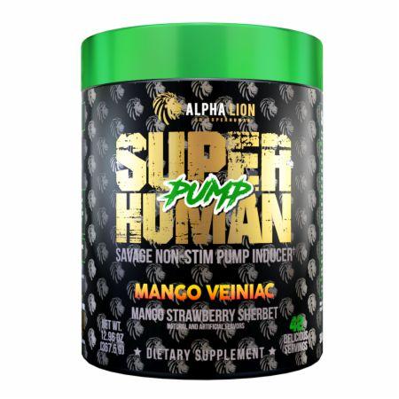 SuperHuman Pump Stimulant-Free Pre Workout