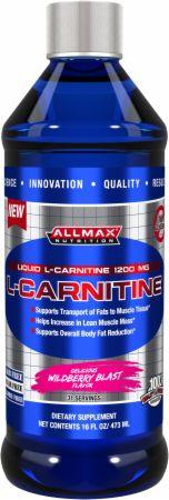 Image of AllMax Nutrition Liquid L-Carnitine 16 Fl. Oz. Wildberry Blast