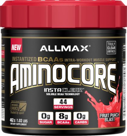 Aminocore Fruit Punch Blast 44 Servings - Amino Acids & BCAAs AllMax Nutrition