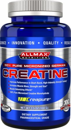 AllMax Nutrition Micronized Creatine Monohydrate Unflavored 100 Grams - Creatine