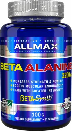 AllMax Nutrition Beta-Alanine at Bodybuilding.com: Best Prices for ...