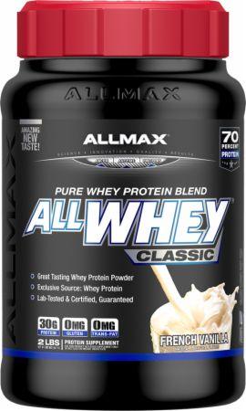 Image of AllWhey Classic French Vanilla 2 Lbs. - Protein Powder Allmax Nutrition