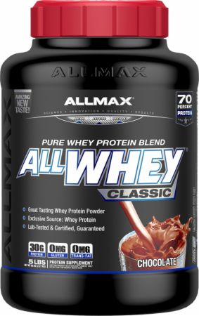 Image of AllWhey Classic Chocolate 5 Lbs. - Protein Powder Allmax Nutrition