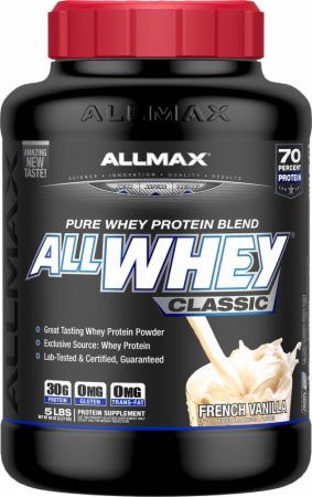 Image of AllWhey Classic French Vanilla 5 Lbs. - Protein Powder Allmax Nutrition