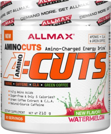 Image of A:Cuts Watermelon 30 Servings - Amino Acids + Energy Allmax Nutrition