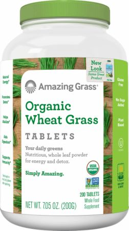 Organic Wheat Grass Tablets