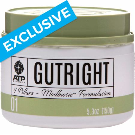 Image of GutRight Digestive Support Unflavored 150 Grams - Digestive Health ATP Science