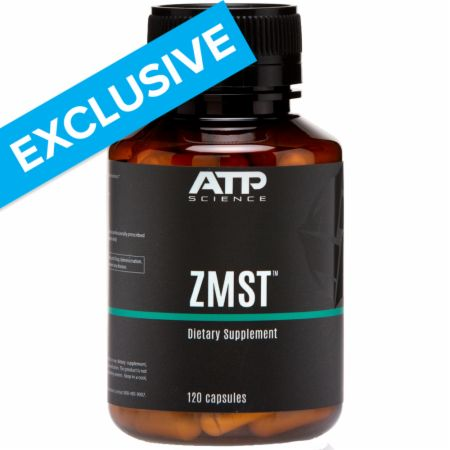 Image of ZMST Zinc & Magnesium Support 120 Capsules - Minerals ATP Science