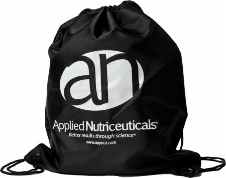 Image of Applied Nutriceuticals Drawstring Sling Bag Black