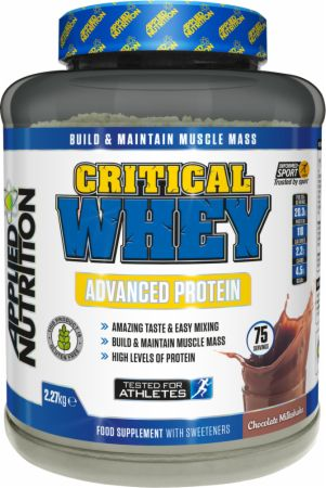 Image of Applied Nutrition Critical Whey 2.27 Kilograms Chocolate Milkshake