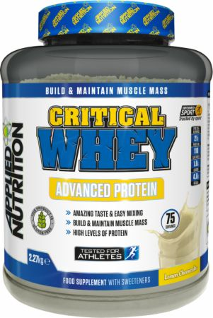 Image of Applied Nutrition Critical Whey 2.27 Kilograms Lemon Cheesecake