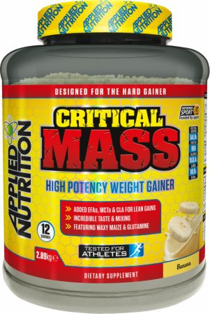Image of Applied Nutrition Critical Mass 2.89 Kilograms Banana