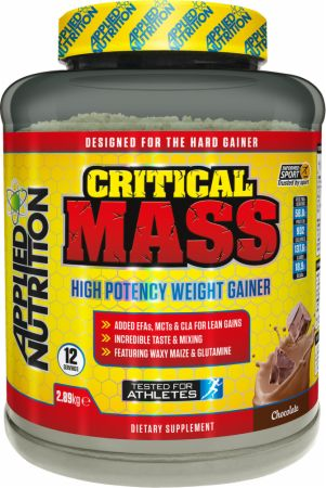 Image of Applied Nutrition Critical Mass 2.89 Kilograms Chocolate Milkshake