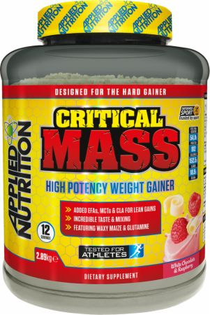 Image of Applied Nutrition Critical Mass 2.89 Kilograms White Chocolate Raspberry