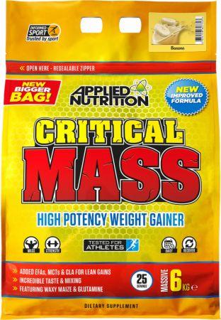 Image of Applied Nutrition Critical Mass 6 Kilograms Banana