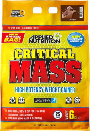 Image of Applied Nutrition Critical Mass 6 Kilograms Chocolate Milkshake