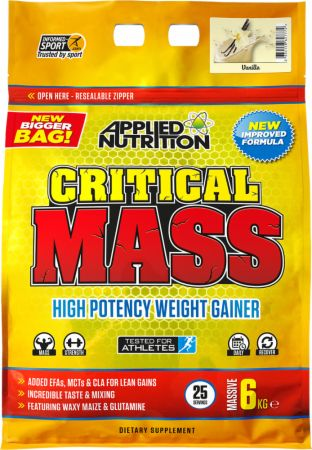 Image of Applied Nutrition Critical Mass 6 Kilograms Vanilla Milkshake