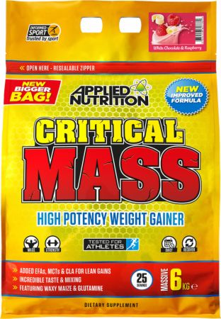 Image of Applied Nutrition Critical Mass 6 Kilograms White Chocolate Raspberry