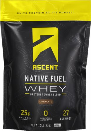 Image of Native Fuel Whey Protein Chocolate 2 Lbs. - Protein Powder Ascent