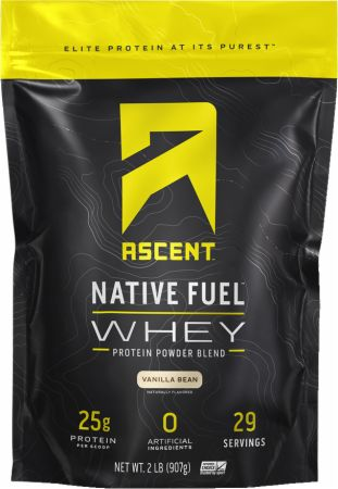 Image of Native Fuel Whey Protein Vanilla Bean 2 Lbs. - Protein Powder Ascent