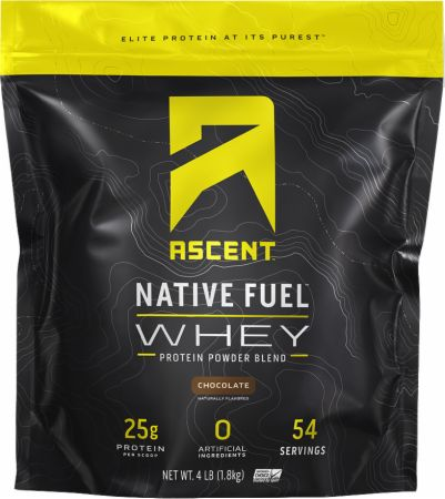 Image of Native Fuel Whey Protein Chocolate 4 Lbs. - Protein Powder Ascent