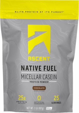 Image of Native Fuel Micellar Casein Protein Chocolate 2 Lbs. - Protein Powder Ascent