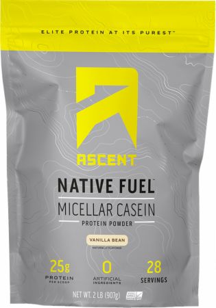 Image of Native Fuel Micellar Casein Protein Vanilla Bean 2 Lbs. - Protein Powder Ascent