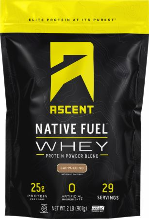Image of Native Fuel Whey Protein Cappuccino 2 Lbs. - Protein Powder Ascent