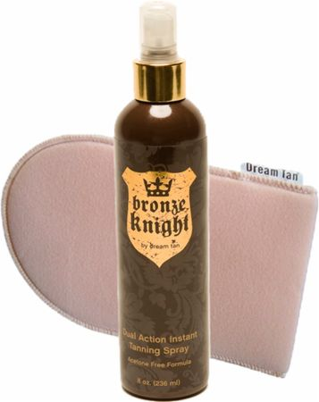 Bronze Knight Dual Action Instant Tanning Spray