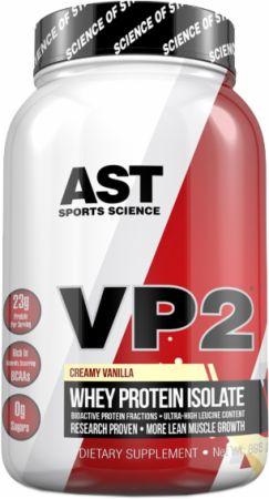 Image of VP2 Whey Isolate Creamy Vanilla 2 Lbs. - Protein Powder AST