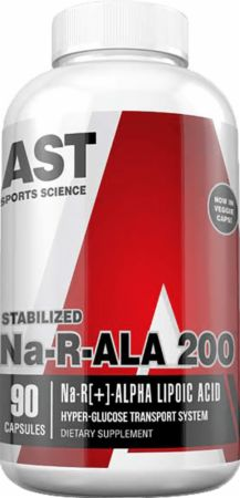 Image of Na-R-ALA 200 90 Capsules - Anti-Aging Support AST