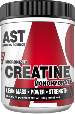 Image of Micronized Creatine Monohydrate Unflavored 300 Grams - Creatine AST