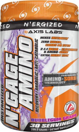 Image for Axis Labs - N'Ergized Instantized N'Gage Amino